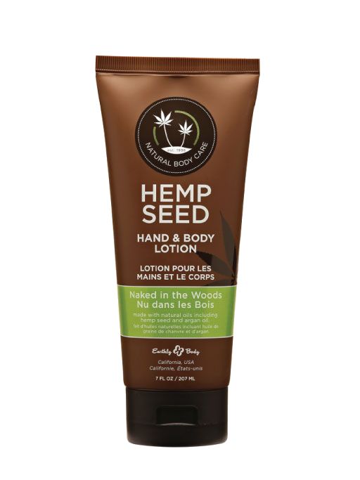 Naked in the Woods Hemp Seed Lotion