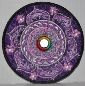Lotus with Mirror - Purple Patch