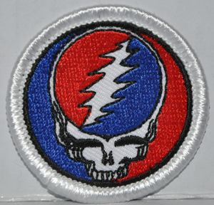 Steal Your Face Medium Patch