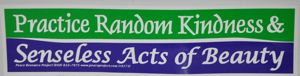 Random Acts of Kindness Sticker