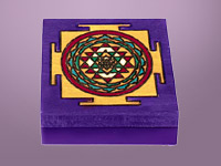 Indian design - large Square