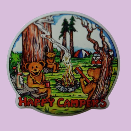 Happy Camper Pin