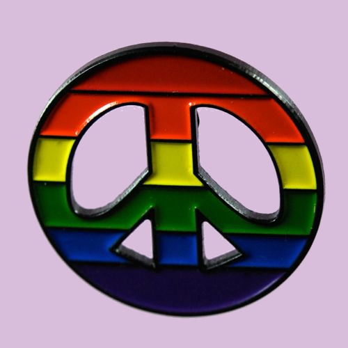Pride Peace Pin