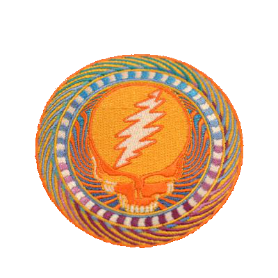 Steal Your Face Orange Patch