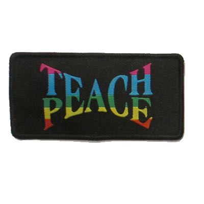 Teach Peace Patch