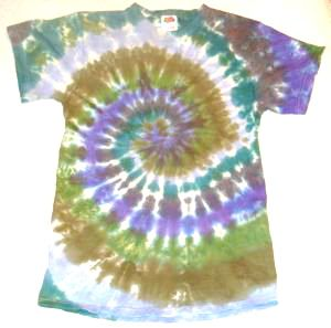 T-shirt Earthy Spiral Youth